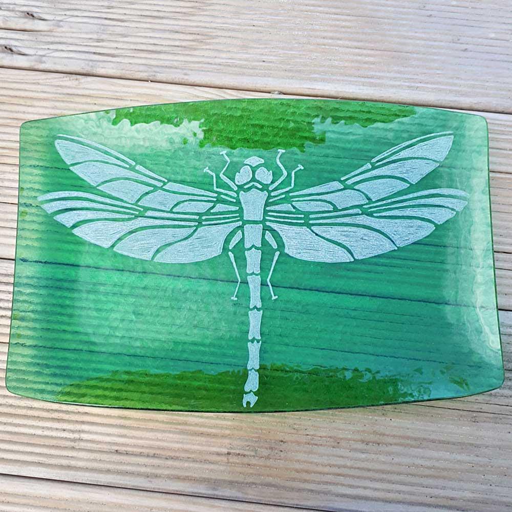 Butterfly Pokerwork Box Image